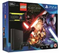 Amazon PS4 Star Wars package console game and bluray