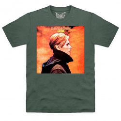 David Bowie official LOW tee