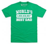 Shot Dead In The Head T Shirt Worlds Best Dad