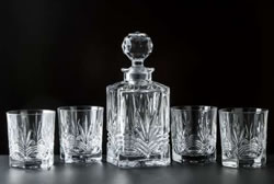 The Irish Store Galway Decanter and Glasses Gift Set