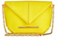 Roland Mouret Mini Classico Yellow bag
