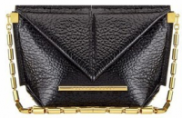 Roland Mouret Mini Classico Bag Black Patent