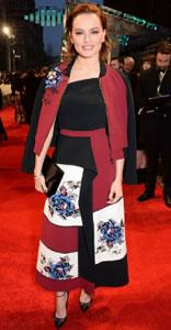 Baftas Daisy Ridley wears Roland Mouret