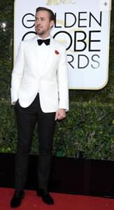 Ryan Gosling Golden Globes 8 Jan 2017
