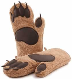 Amazon Designer Bear Oven Gloves