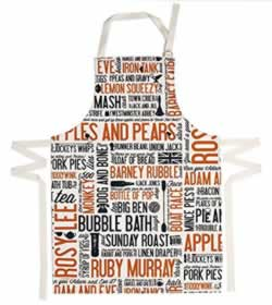 Amazon Handmade by Victoria Egg Cockney Rhyming Slang Apron