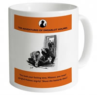Shot Dead In The Head Swearalot Holmes The Nick Of Time Mug