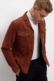 New LookTan Suede jacket