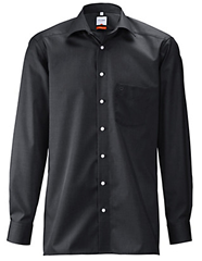 Peter Hahn Olymp Luxor Black non iron shirt