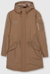 Pull and Bear Ohre Padded Parka Coat
