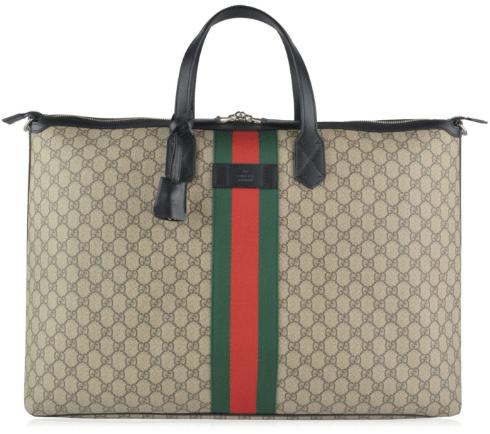 Cruise Gucci Supreme Duffle Bag