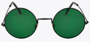 Hindsight Vintage Envy Green Lennon glasses