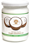 Organic raw coconut Oil