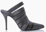 Choice Alexander Wang Silver Mule Heels