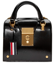 Thom Browne Black Mini Mrs Thom Bag