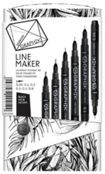 Fashion Illustration Derwent Line Maker Graphik Pens