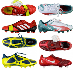 Football Boots Selection