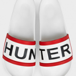 Hunter Slides White M