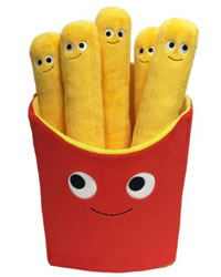 Fun stuff Kidrobot Yummy World Large Plush Fries Cushion