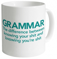 Rude Grammar Mug