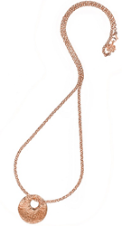 Dower and Hall Nomad Pendant in Rose Gold