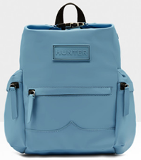 Hunter Original Mini Clip Top Back Pack in pale blue