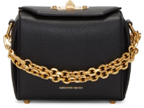 Alexander McQueen Black Box Bag