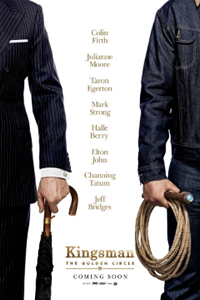 Kingsman The Golden Circle Film Movie Poster