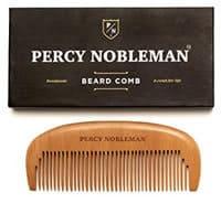 Percy Nobleman wooden beard comb