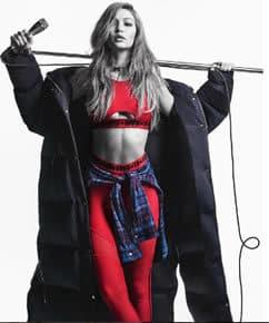 Gigi Hadid wears Tommy x Gigi