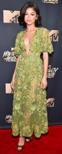 Zendaya MTX Film and TV awards 2017