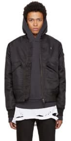 Ksubi Black Travis Scott Edition Higher Than Heaven Bomber Jacket
