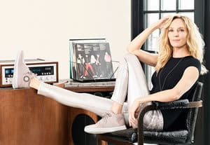 Uma Thurman for FitFlop