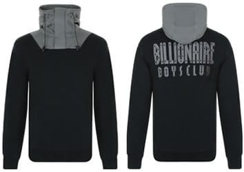 Cruise Billionaires Boys Club Military Hooded Sweatshirt Front and Back