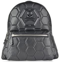 Phillip Plein Skull logo backpack
