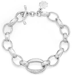 Sterling Silver chunky Nomad bracelet from Dower and Hall