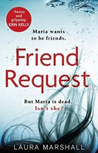 Friend Request Niovember Bookclub Laura Marshall debut novel