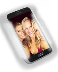 Lit LuMee LED Smartphone Case Samsung View