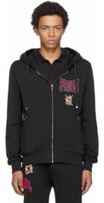 Dolce and Gabbana Black Prince Hoodie