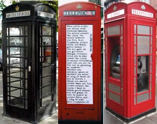 Fashion Style Inspiration London home of fashion Designer, Indie, Streetstyle and phone box fun