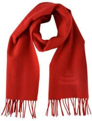 Vivienne Westwood Red Scarf
