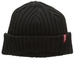 Men's Accessories Levi's Beanie unisex ribbed knit