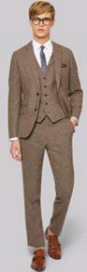 Moss London Donegal Suit