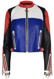 Tommy X Gigi Leather Jacket