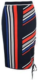 Tommy x Gigi Speed Stripe Skirt