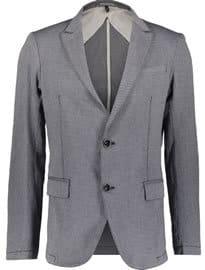 Armani Jeans Blue Birdseye Blazer