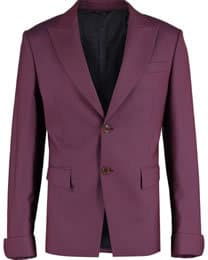Vivienne Westwood Burgandy Slim Fit Jacket