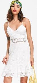 Broderie Anglaise Flip Sun Dress