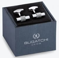 Rhodium Plated Silver Cufflinks