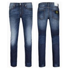 Stone Island Vintage Blue Skinny Jeans